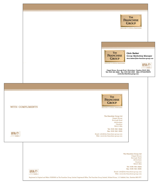 Letterheads, Compliment Slips, Business Cards and Continuation ...
